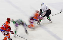 Feature during ice hockey match between HK Acroni Jesenice and  HDD Tilia Olimpija Ljubljana at 33rd Round of EBEL league, on January 1, 2011 in Arena Podmezakla, Jesenice, Slovenia. (Photo By Vid Ponikvar / Sportida.com)
