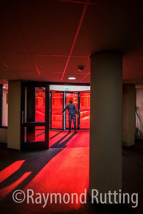 Netherlands -Amsterdam-  The Student Hotel .cozy-contemporary hotel campus in Amsterdam West. Good place to stay for international millennial students. photo Raymond Rutting
