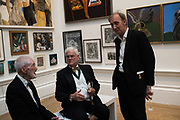 JOE TILSON, STEPHEN COX, KEITH COVENTRY, 2019 Royal Academy Annual dinner, Piccadilly, London.  3 June 2019