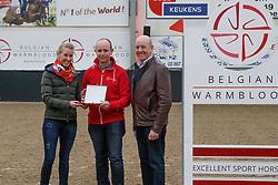 Elite merries<br /> BWP hengstenkeuring - Meerdonk 2018<br /> © Hippo Foto - Dirk Caremans<br /> 17/03/2018Arnauts Katrien, Arnauts Herman, De Pauw Kristof<br /> Elite merries<br /> BWP hengstenkeuring - Meerdonk 2018<br /> © Hippo Foto - Dirk Caremans<br /> 17/03/2018Arnauts Katrien, Arnauts Herman, De Pauw Kristof<br /> Elite merries<br /> BWP hengstenkeuring - Meerdonk 2018<br /> © Hippo Foto - Dirk Caremans<br /> 17/03/2018