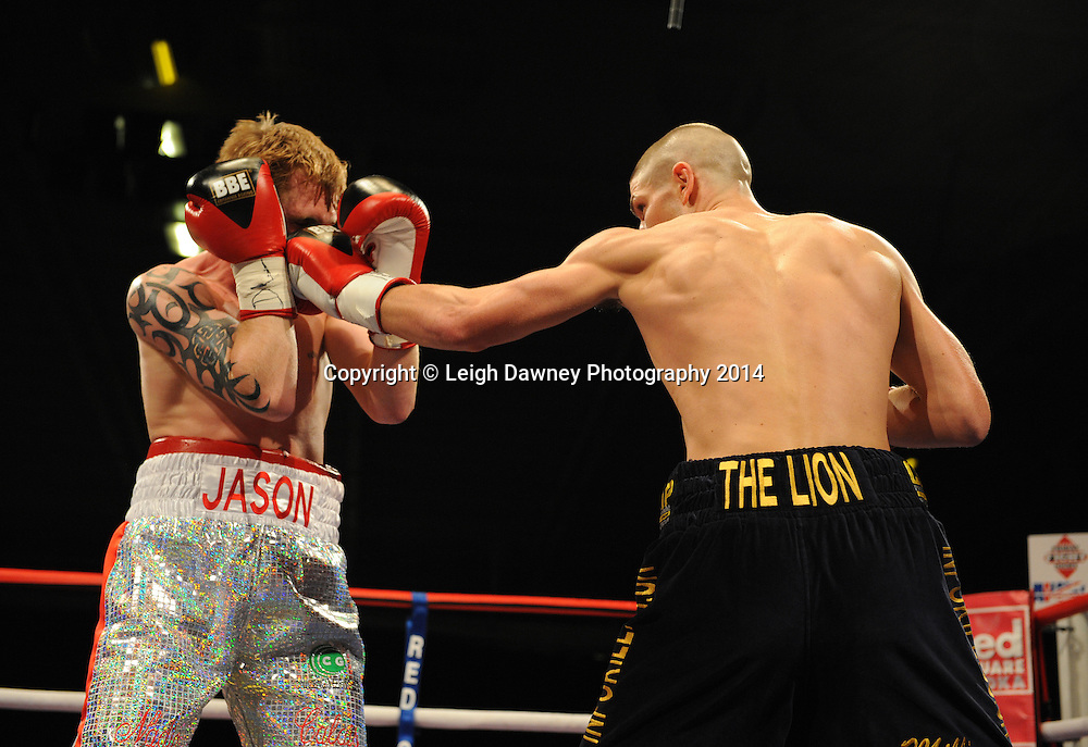Brian Rose v Jason Rushton, Bolton Arena, 23rd September 2009. Frank Maloney Promotions © Credit: Leigh Dawney Photography 2009.
