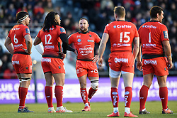 Alby Matthewson of Toulon - Mandatory byline: Patrick Khachfe/JMP - 07966 386802 - 09/12/2017 - RUGBY UNION - Stade Mayol - Toulon, France - Toulon v Bath Rugby - European Rugby Champions Cup