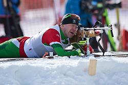 SILCHANKA Siarhei, BLR, Biathlon Pursuit, 2015 IPC Nordic and Biathlon World Cup Finals, Surnadal, Norway