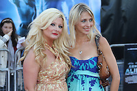 Sinead Kelly; Ali Bastian Cowboys & Aliens UK Premiere, The O2, London, UK, 11 August 2011:  Contact: Rich@Piqtured.com +44(0)7941 079620 (Picture by Richard Goldschmidt)