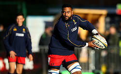 Andrew Durutalo of Worcester Warriors - Mandatory by-line: Robbie Stephenson/JMP - 12/11/2017 - RUGBY - Twickenham Stoop - London, England - Harlequins v Worcester Warriors - Anglo-Welsh Cup