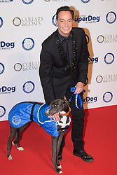 "Battersea, London, November 3rd 2016.  Celebrities and their dogs attend The Evolution at Battersea Park to attend The Battersea Dogs and Cats Home ""Collars and Coats Ball"". PICTURED: Craig Revel-Horwood"