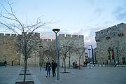 Jaffa Gate the main entrance into the Old City of Jerusalem