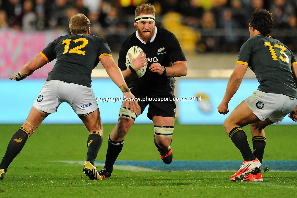 All Black Kieran Read during the Rugby Championship Rugby Union Test Match New Zealand All Blacks v South Africa. Westpac Stadium, Wellington, New Zealand. Saturday 13 September 2014. Photo: Chris Symes/www.photosport.co.nz