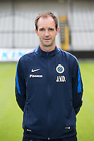 Club's physiotherapist Jan Van Damme poses for the photographer during the 2015-2016 season photo shoot of Belgian first league soccer team Club Brugge, Friday 17 July 2015 in Brugge