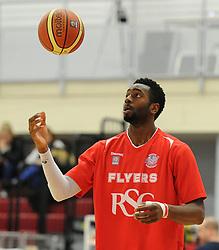 Bristol Flyers' Alif Bland - Photo mandatory by-line: Dougie Allward/JMP - Mobile: 07966 386802 - 13/03/2015 - SPORT - Basketball - Bristol - SGS Wise Campus - Bristol Flyers v Leicester Riders - British Basketball League