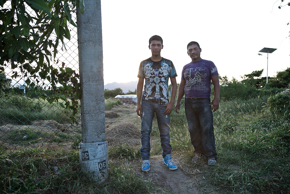 Miguel and his brother escaped from El Salvador. Ixtepec-Oxaca-Mexico,2011