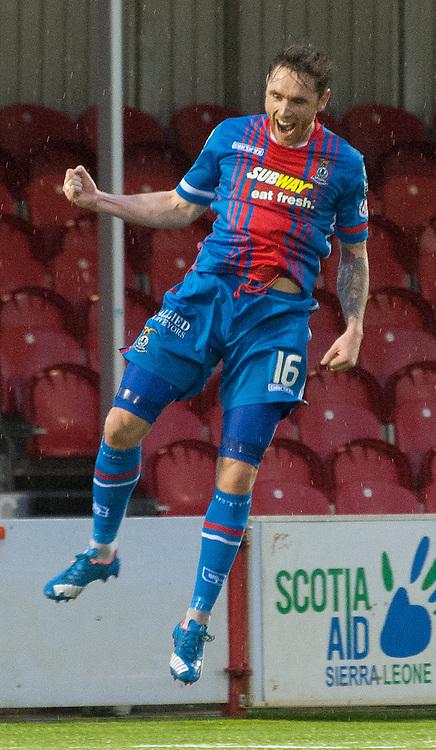 #16 Greg Tansey (Inverness Caledonian Thistle) celebrates • Hamilton Academical v Inverness Caledonian Thistle • SPFL Premiership • 30 December 2015 • © Russel Hutcheson | SportPix.org.uk