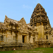 The Phimai historical park protects one of the most important Khmer temples of Thailand. It is located in the town of Phimai, Nakhon Ratchasima province.<br /> The temple marks one end of the Ancient Khmer Highway from Angkor. As the enclosed area of 1020x580m is comparable with that of Angkor Wat, Phimai must have been an important city in the Khmer empire. Most buildings are from the late 11th to the late 12th century, built in the Baphuon, Bayon and Angkor Wat style.