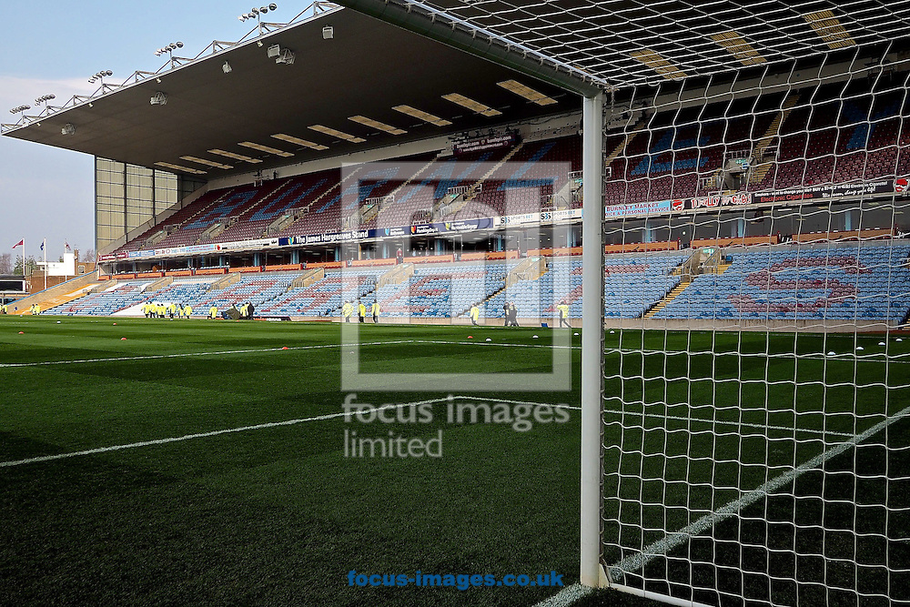 General view of the stadium ahead of the Sky Bet Championship match at Turf Moor, Burnley<br /> Picture by Ian Wadkins/Focus Images Ltd +44 7877 568959<br /> 29/03/2014