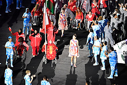 Opening Ceremony at Rio 2016 Paralympic Games, Brazil