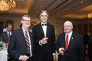 17/12/2015<br /> 17 December 2015<br /> Pictured at The Ireland - U.S. Council Holiday Season Member - Guest Reception at the InterContinental Hotel, Dublin were (L-R):<br /> Daniel J. Lawton, U.S. Consul-Belfast;<br /> Stuart Dwyer, Deputy Chief of Mission, Embassy of the United States of America in Ireland <br /> and Aidan Prendergast, Cardinal Consulting.