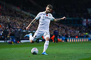 Leeds United midfielder Mateusz Klich (43) passes the ball during the EFL Sky Bet Championship match between Leeds United and Blackburn Rovers at Elland Road, Leeds, England on 9 November 2019.