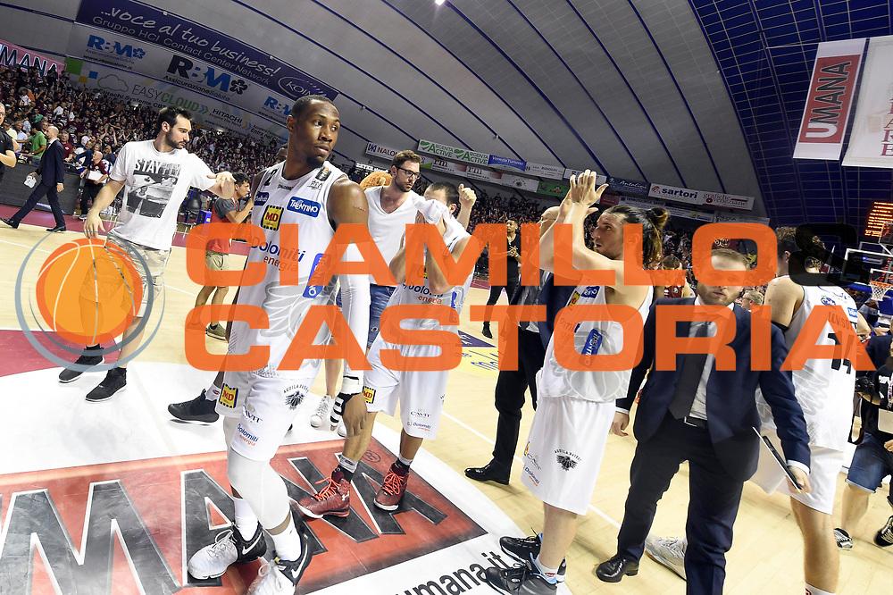 Dominique Sutton, Aquila Basket Dolomiti Energia Trento<br /> Umana Reyer Venezia - Dolomiti Energia Aquila Basket Trento<br /> Lega Basket Serie A 2016/2017<br /> Playoff, finale gara 2<br /> Venezia, 12/06/2017<br /> Foto M.Ceretti / Ciamillo-Castoria