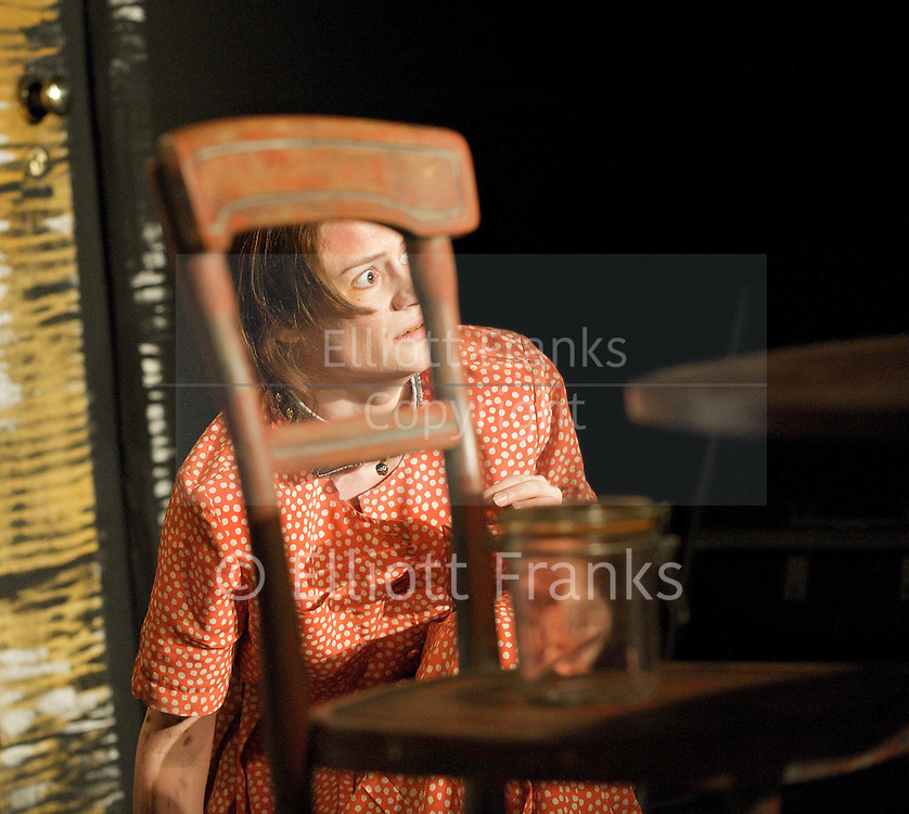 Hundreds and Thousands<br /> by Lou Ramsden <br /> at the Soho Theatre Upstairs studio, London, Great Britain <br /> press photocall<br /> 24th June 2011 <br /> <br /> Nadine Lewington (as Tiggy)<br /> <br /> Photograph by Elliott Franks