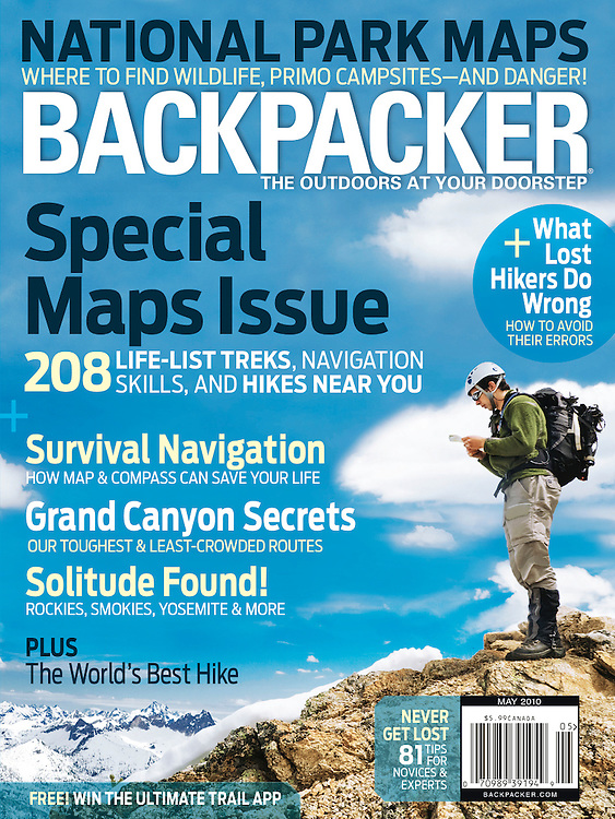 Backpacker: Cover (May 2010)