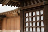Traditional Architecture at Shitaya Jinja Shinto Shrine