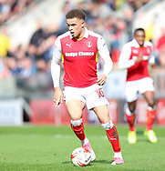 Carlton Morris of Rotherham United during the Sky Bet Championship match at the New York Stadium, Rotherham<br /> Picture by James Wilson/Focus Images Ltd 07709 548263<br /> 01/04/2017