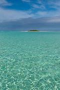 Honeymoon Island, Aitutaki, Cook Islands, South Pacific
