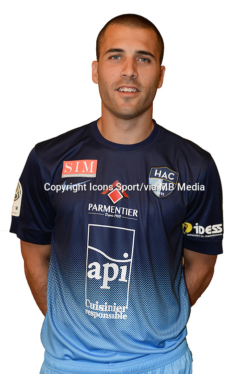 Yohann RIVIERE - 04.10.2013 - Photo Officielle - Le Havre -<br /> Photo : Icon Sport