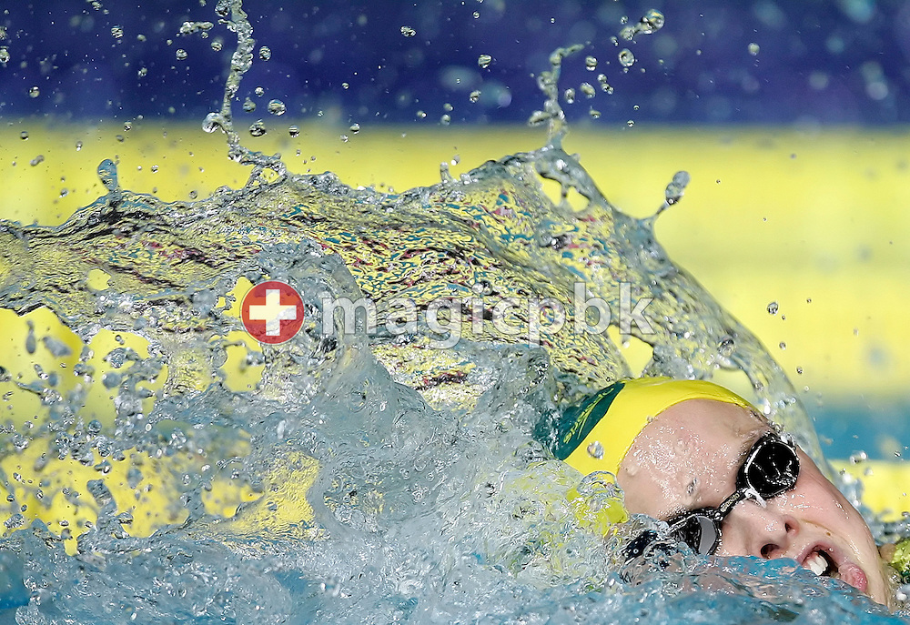 Lisbeth (Libby) LENTON of Australia competes on the first leg in the women's 4x100m freestyle relay final in the Susie O'Neill pool at the FINA Swimming World Championships in Melbourne, Australia, Sunday 25 March 2007. (Photo by Patrick B. Kraemer / MAGICPBK)