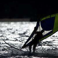 Windsurfing at Sandy Hook National Park New Jersey