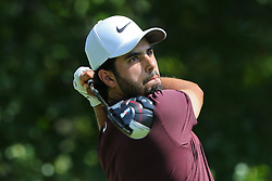 September 2, 2018 - Norton, Massachusetts, United States - Abraham Ancer tees off the 4th tee during the third round of the Dell Technologies Championship. (Credit Image: © Debby Wong/ZUMA Wire)