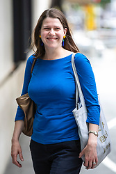 © Licensed to London News Pictures. 02/06/2019. London, UK. Liberal Democrat MP and leadership contender Jo Swinson arrives at BBC Broadcasting House to appear on The Andrew Marr Show. Photo credit: Rob Pinney/LNP