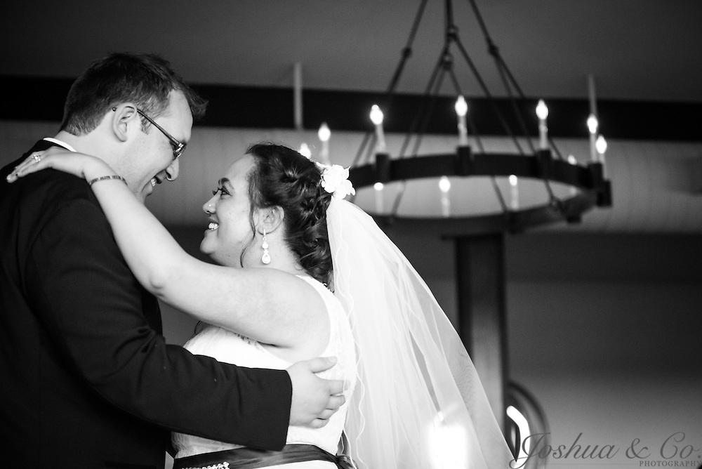 Steven and Taryn's wedding at the Applewood Golf Course in Golden, Colo., on April 10, 2016.