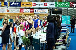 Ahtletes at Floor Exercise during Finals of Artistic Gymnastics FIG World Challenge Koper 2019, on June 2, 2019 in Arena Bonifika, Koper, Slovenia. Photo by Matic Klansek Velej/ Sportida