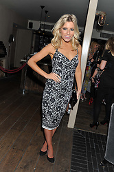 MOLLIE KING at the InStyle Best of British Talent Event in association with Lancôme and Charles Worthington held at The Rooftop Restaurant, Shoreditch House, Ebor Street, E1 on 26th January 2012.