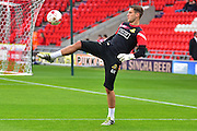 Doncaster Rovers goalkeeper Marko Marosi (13)  during the EFL Sky Bet League 2 match between Doncaster Rovers and Colchester United at the Keepmoat Stadium, Doncaster, England on 15 October 2016. Photo by Craig  Goddard.
