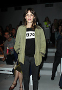 18.SEPTEMBER.2012. LONDON<br /> <br /> ALEXA CHUNG ATTENDS THE SIMONE ROCHA LFW CATWALK SHOW.<br /> <br /> BYLINE: EDBIMAGEARCHIVE.CO.UK<br /> <br /> *THIS IMAGE IS STRICTLY FOR UK NEWSPAPERS AND MAGAZINES ONLY*<br /> *FOR WORLD WIDE SALES AND WEB USE PLEASE CONTACT EDBIMAGEARCHIVE - 0208 954 5968*