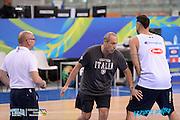 DESCRIZIONE: Torino FIBA Olympic Qualifying Tournament <br /> GIOCATORE: Ettore Messina<br /> CATEGORIA: Nazionale Italiana Italia Maschile Senior Allenamento<br /> GARA: FIBA Olympic Qualifying Tournament Allenamento<br /> DATA: 04/07/2016<br /> AUTORE: Agenzia Ciamillo-Castoria
