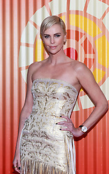 Charlize Theron at the Africa Outreach Project Fundraiser in New York City.