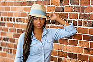 Senior photos of Arial, Class of 2013.