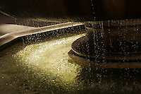dripping water at a Roman fountain - photograph by Owen Franken
