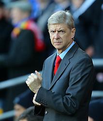 Arsenal Manager, Arsene Wenger - Photo mandatory by-line: Gary Day/JMP - Tel: Mobile: 07966 386802 30/11/2013 - SPORT - Football - Cardiff - Cardiff City Stadium - Cardiff City v Arsenal - Barclays Premier League