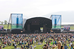 The main stage. Rockness, Saturday 7th June 2008..Pic © Michael Schofield. All Rights Reserved.