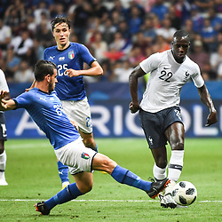 Benjamin Mendy of France during the International Friendly match between France and Italy at Allianz Riviera Stadium on June 1, 2018 in Nice, France. (Photo by Anthony Dibon/Icon Sport)