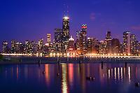 Downtown Chicago on Lake Michigan