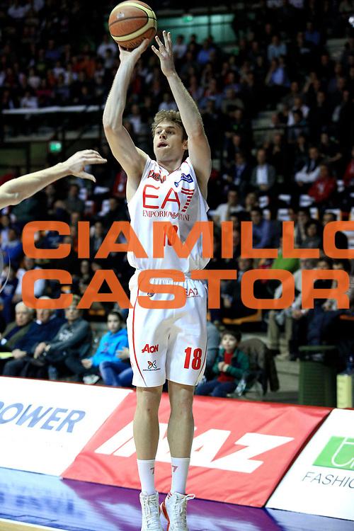 DESCRIZIONE : Milano Lega A 2012-2013 EA7 Emporio Armani Milano Vanoli Cremona<br /> GIOCATORE : Niccolo Melli<br /> CATEGORIA : three points<br /> SQUADRA : EA7 Emporio Armani Milano<br /> EVENTO : Campionato Lega A 2012-2013 <br /> GARA : EA7 Emporio Armani Milano Vanoli Cremona<br /> DATA : 16/03/2013<br /> SPORT : Pallacanestro <br /> AUTORE : Agenzia Ciamillo-Castoria/I.Mancini<br /> Galleria : Lega Basket A 2012-2013  <br /> Fotonotizia : Milano Lega A 2012-2013 EA7 Emporio Armani Milano Vanoli Cremona<br /> Predefinita :