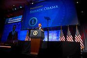 President Barack Obama addresses the Planned Parenthood National Conference held in Washington D.C. on April 26, 2013.