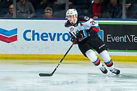 KELOWNA, BC - JANUARY 4:  Matthew Wedman #20 of the Kelowna Rockets skates against the Vancouver Giants at Prospera Place on January 4, 2020 in Kelowna, Canada. Wedman was selected in the 2019 NHL entry draft by the Florida Panthers. (Photo by Marissa Baecker/Shoot the Breeze)