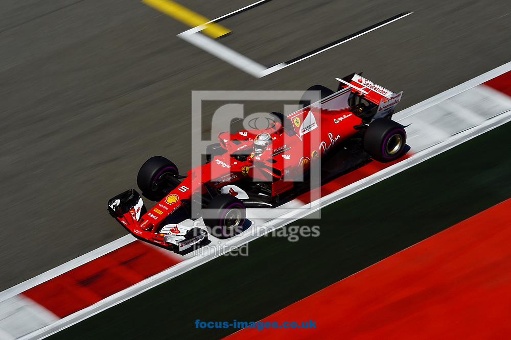 Sebastian Vettel of Scuderia Ferrari en route to coming second in the Russian Formula One Grand Prix at Sochi Autodrom, Sochi, Russia.<br /> Picture by EXPA Pictures/Focus Images Ltd 07814482222<br /> 30/04/2017<br /> *** UK & IRELAND ONLY ***<br /> <br /> EXPA-EIB-170430-0270.jpg
