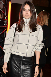 DOINA CIOBANU at the YSL Beauty: YSL Loves Your Lips party held at The Boiler House,The Old Truman Brewery, Brick Lane,London on 20th January 2015.
